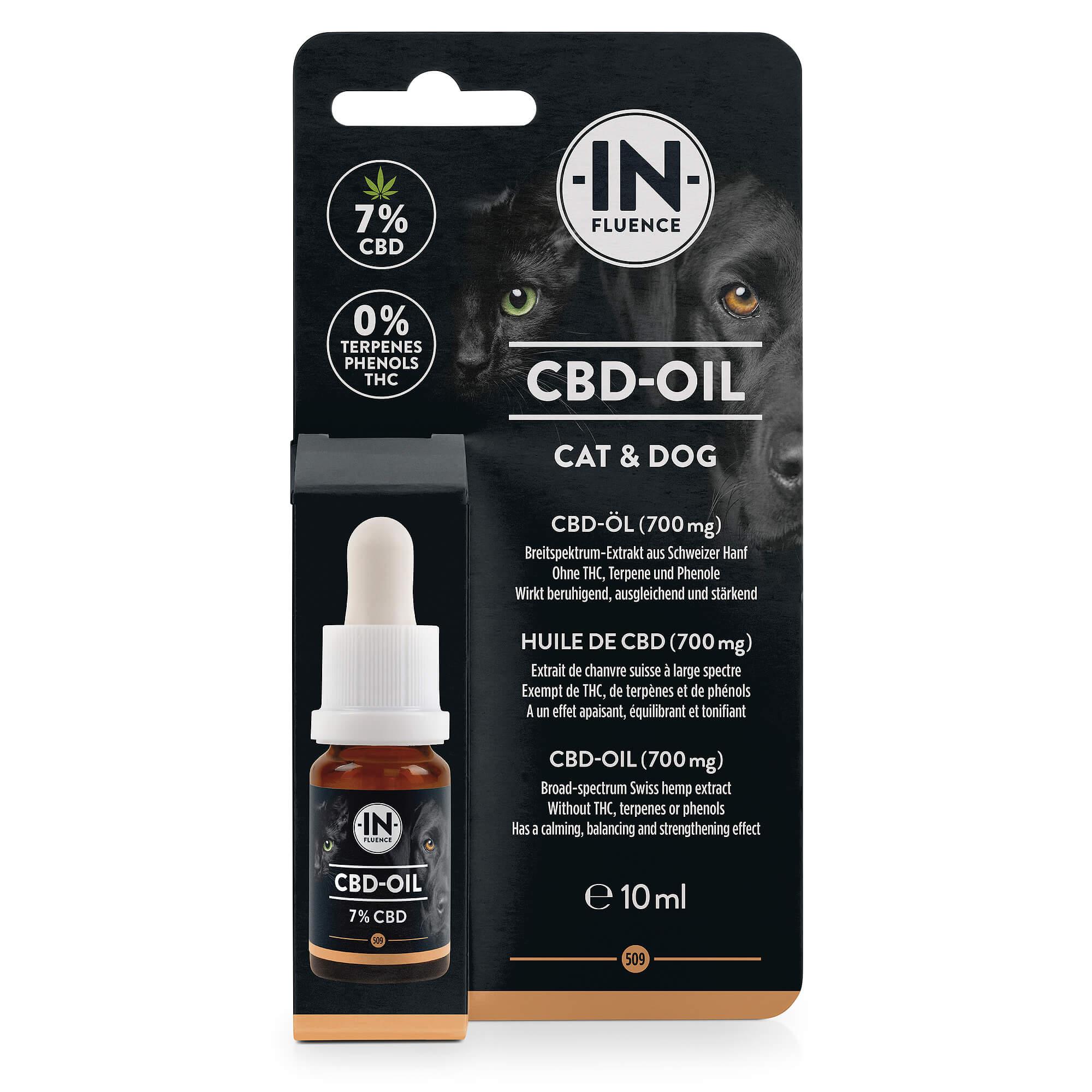 CBD Öl (3,5% / 7%) - In-Fluence -
